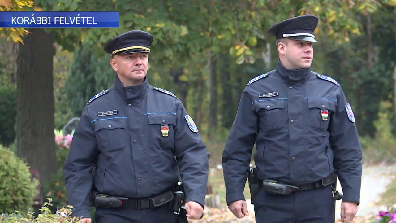 Több lesz a rendőr a Farkasréti Temetőnél - Hírek 2020. október 28.