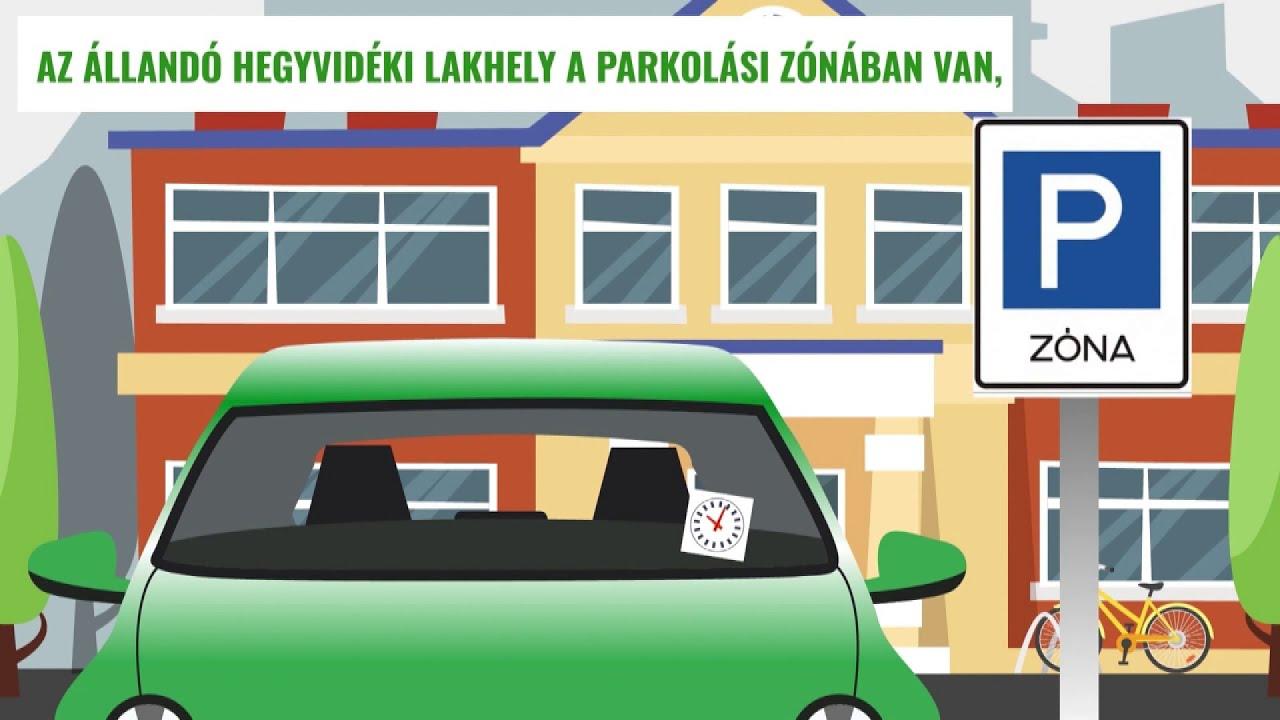 Csak online lehet kiváltani az idei évre szóló parkolási engedélyeket - Hírek 2021. január 8.