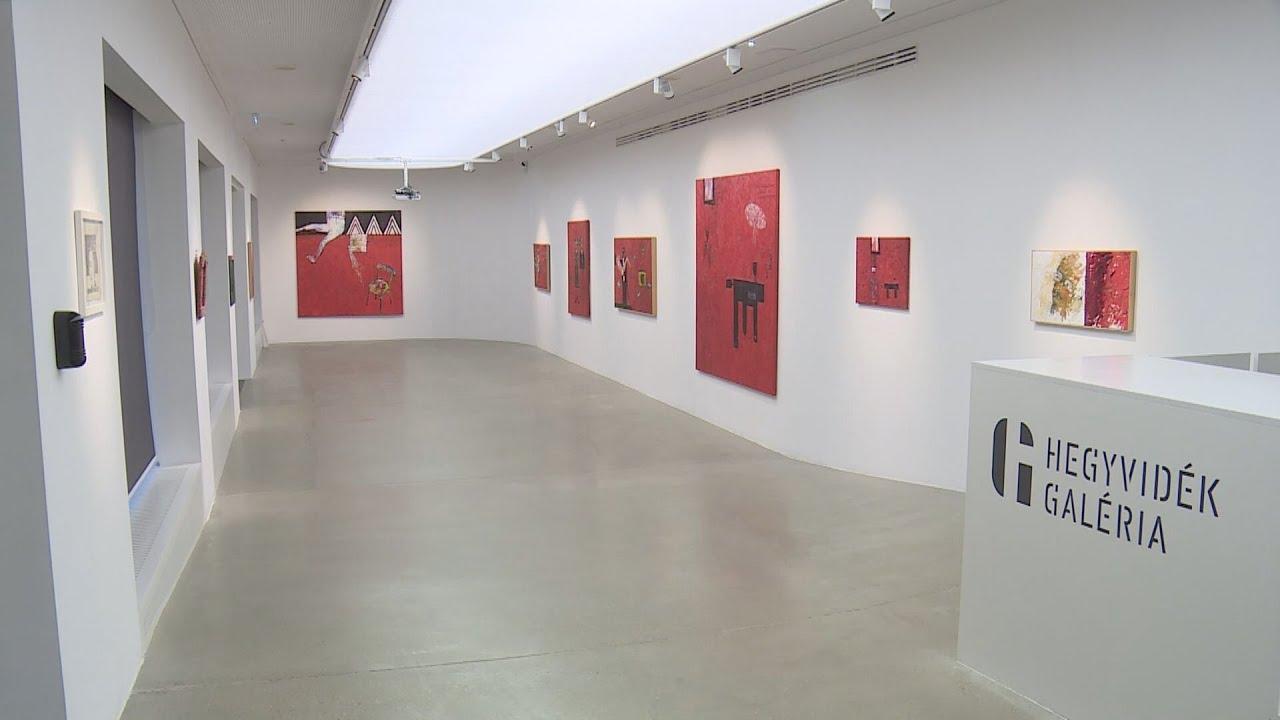 Estély a vörös kertben – Megnyílt aatoth franyó kiállítása a Hegyvidék Galériában