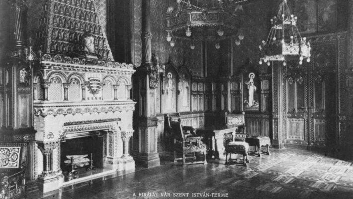 Újjászületik az egykori Szent István terem a Budai Várban