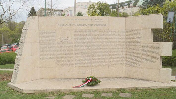 A holokauszt magyarországi áldozataira emlékeztek - Budai Híradó 2021. április 16.
