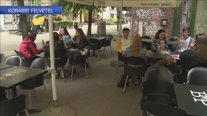 Már a nyitásra készülnek a budapesti vendéglátóhelyek