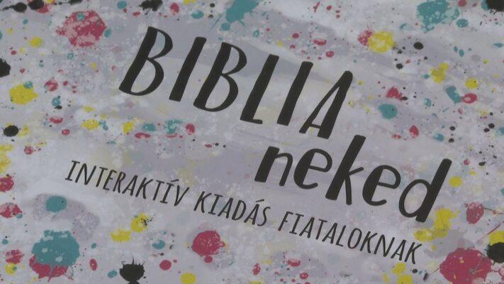 Új interaktív Biblia jelent meg